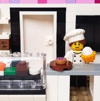 Építs LEGO süteményt!