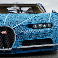 LEGO Bugatti, de mekkora!