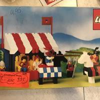Matricák eltüntetése a LEGO dobozról