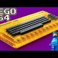 Commodore 64 LEGO kockákból