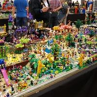 LEGO vidámpark 70.000 építőelemből