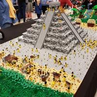 Azték város 100.000 LEGO kockából