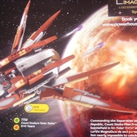 Star Wars: Count Dooku's Solar Sailer [7752]