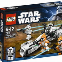 Dupla menet: 7913 Clone Trooper Battle Pack