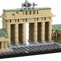 Olvasó játszik: 21011 Brandenburg Gate