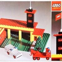 LEGO Lánglovagok (1. rész):  Tűzoltóállomások