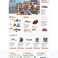 Átalakult a shop.lego.com