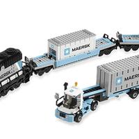 Olvasó játszik: 10219 Maersk Train
