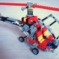 Replay - Retró helikopter