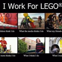 A legónak dolgozom!