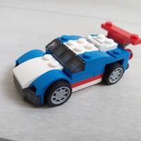 Megvettem, bemutatom - Kék versenyautó (31027)