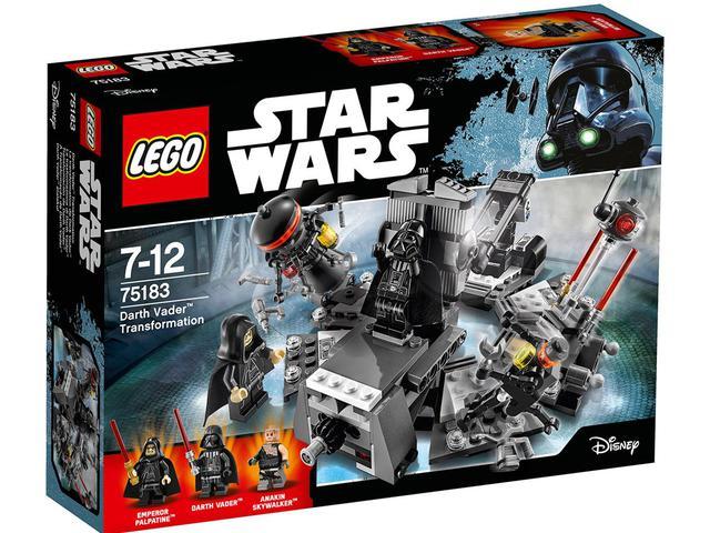LEGO Star Wars - Darth Vader™ átalakulása (75183) bemutató