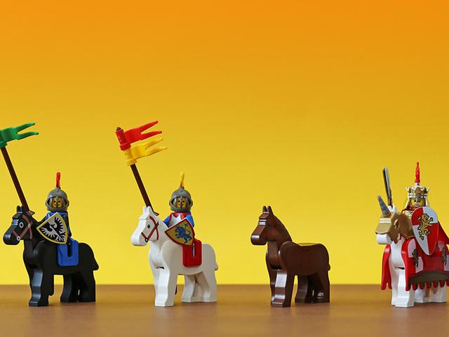 A LEGO lovak evolúciója