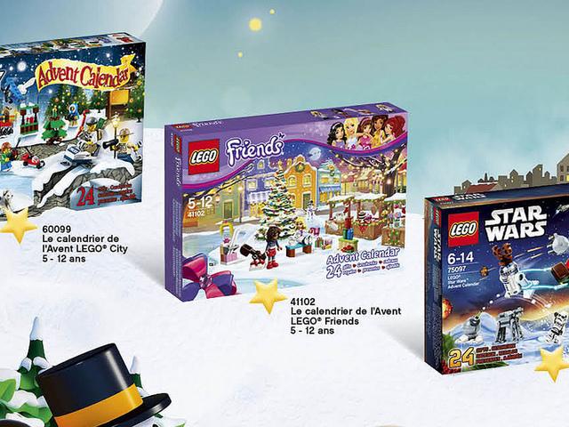 LEGO adventi kalendáriumok