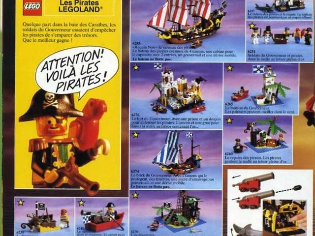 Retro - '89-es Lego katalógus