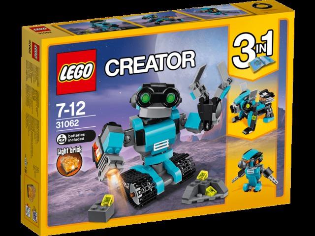 Robot felfedező 31062 - Bemutató