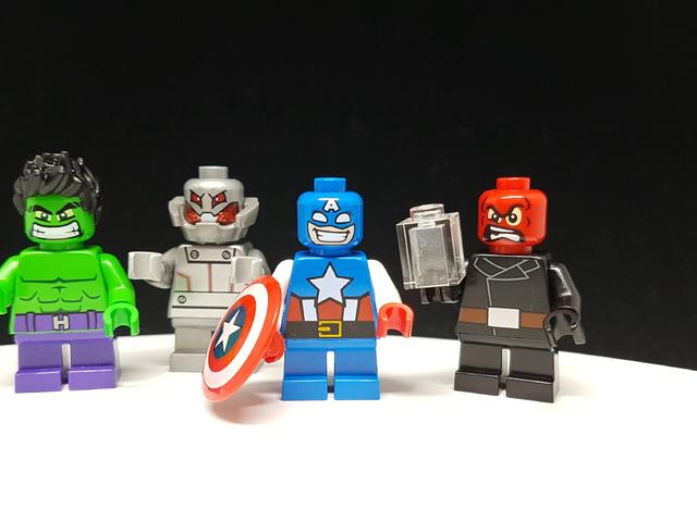 LEGO Amerika Kapitány vs Vörös Koponya (76065) & Hulk vs Ultron (76066)