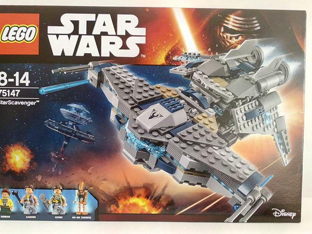 LEGO Star Wars Csillagközi gyűjtögető™ (75147) bemutató