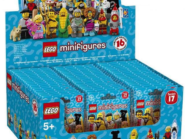 """""""Tapogatási"""" segédlet a 17. LEGO minifigura szériához"""