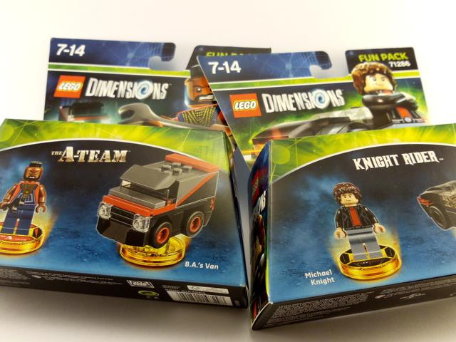 Új (LEGO) dimenzióban a 80-as évek sorozatai