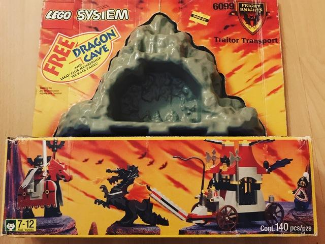 LEGO 6099 - Az áruló szállítása - Extra ajándékkal