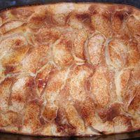 Tepsis almás palacsinta