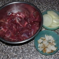 Lecsós hús