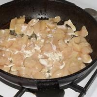 Édes-savanyú csirke