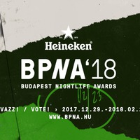 Heineken Budapest Nightlife Awards'18