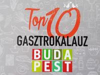 Budapest Top 10 gasztrokaluz (2019)