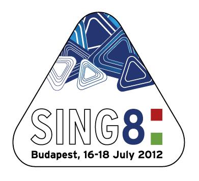 SING8 logó