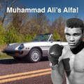 Eladó Muhammad Ali Alfa Romeo-ja!