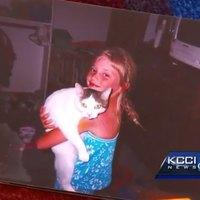 A lány 14 év után látta viszont elveszett cicáját