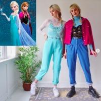 A kreatív csajok vintage cuccokból öltöznek rajzfilm karaktereknek