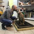 Ez az orosz pár szó szerint fogadott örökbe egy beteg pumát
