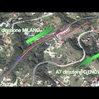 Magyar kamion közlekedett fordítva az olasz autópályán