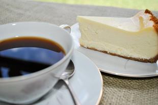 Kávé és sajttorta