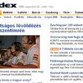BECUP az index.hu-n