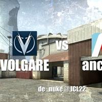 Ancients vs Volgare az ICL22-n