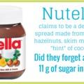 a nutella és a zsákos ember
