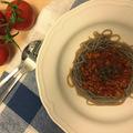Bolognai spagetti mindenmentes tésztával - avagy rájöttem, hogy nem kell félni a hajdinától, meg is lehet szeretni.