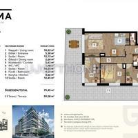 Nagy teraszos új építésű lakások