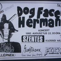 Archiváltunk: DOG FACED HERMANS - Szentes, 1992. 08. 22.