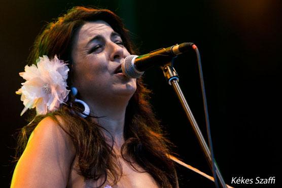 Amparo Sanchez (E) koncert fotók - Sziget 2010