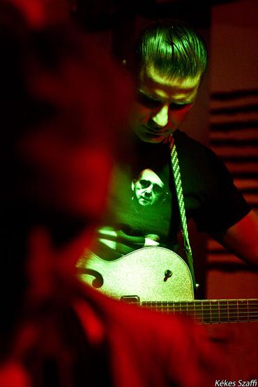Bloodshot Bill Voodoo Allen koncert fotók