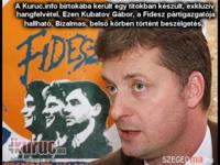Kiszivárgott hangfelvétel - Fidesz diktatúra