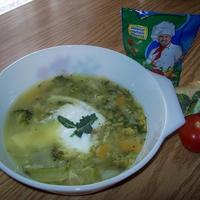 Savanyított zöldségleves