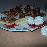 Banános szelet