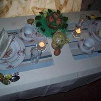 Húsvéti asztal megterítések
