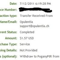 Opulentia és HUSM kifizetés